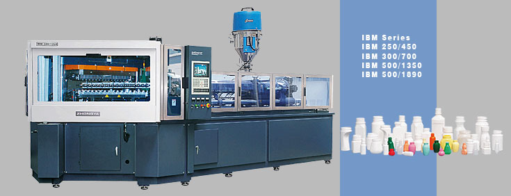 Full Automatic Injection Blow Molding Machine